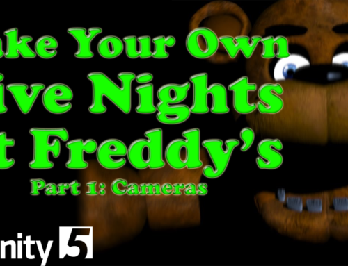 Five Nights at Freddy's Remake – Unity Tutorial Part 1: Camera Map