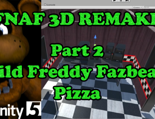 Five Nights at Freddy's Remake – Unity Tutorial Part 2: Modeling Freddy Fazbear's Pizza