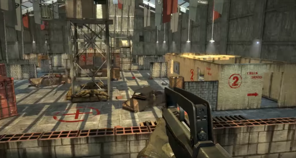 first person shooter hangar