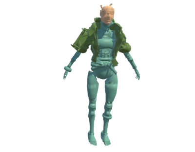 3d character download