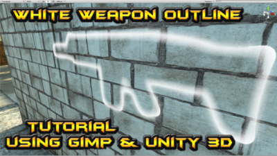 weapon outline unity gimp
