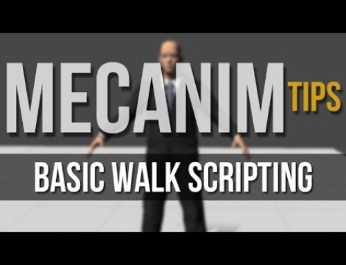Mecanim: Basic Walk Scripting