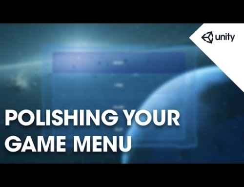 Polishing Your Game Menu