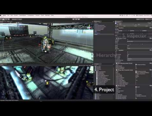 Unity Interface overview