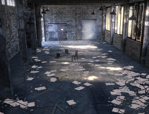 Abandoned Warehouse Scene