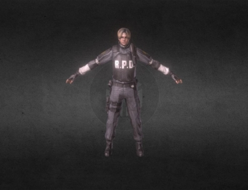 Leon [Resident Evil] Not Rigged