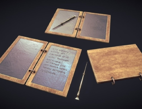 Historic 01 – Wax Tablet Tabula Rasa
