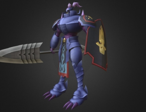 Digimon 3D Craniummon