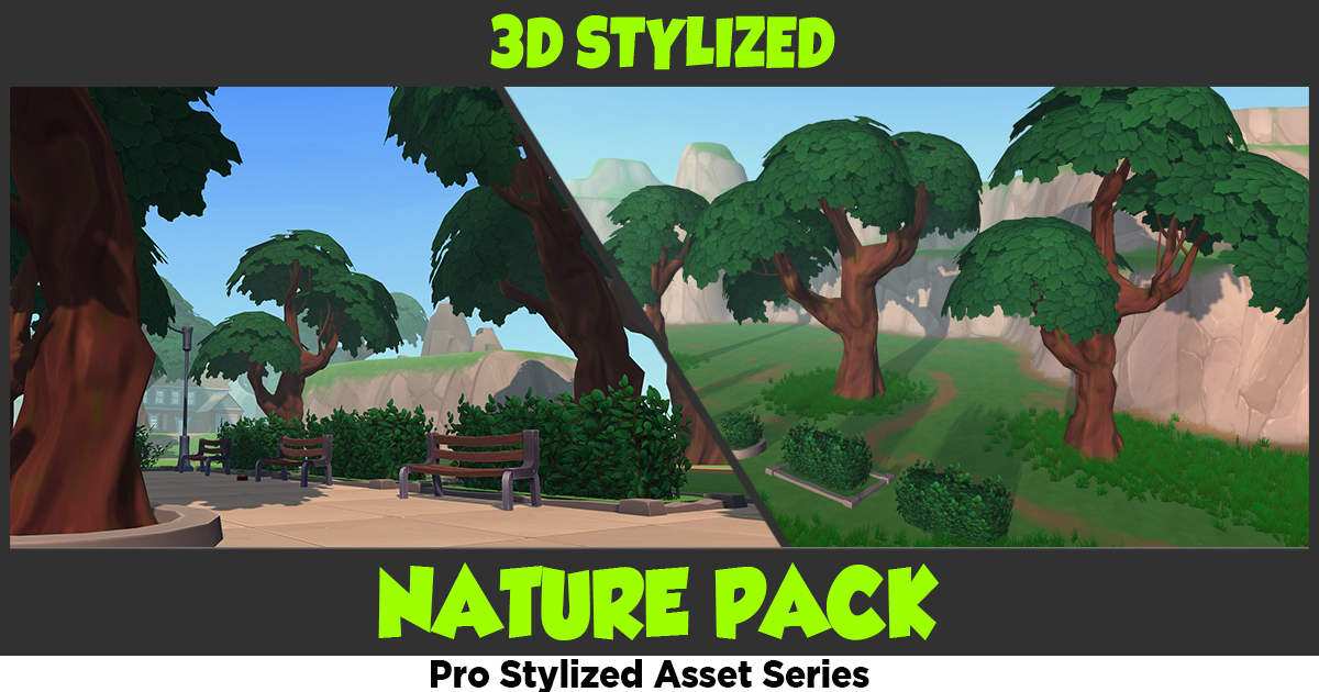 free unity nature pack download 3d models